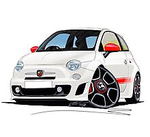 Fiat New 500 Abarth Photographic Print