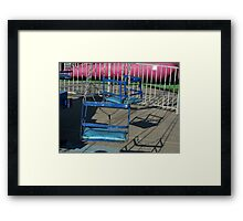 Empty Swing Framed Print