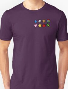 Pokemon Badge Sprites (Kanto Only) T-Shirt