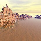 Grand Mountain Range by perkinsdesigns