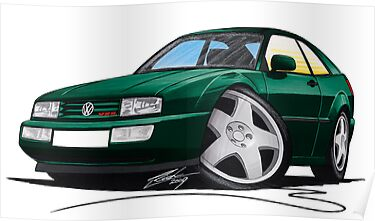 VW Corrado Green by Richard Yeomans
