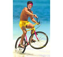 Bradley Wiggins - Gold Photographic Print