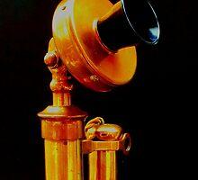 Vintage Brass 'Phone by John Evans
