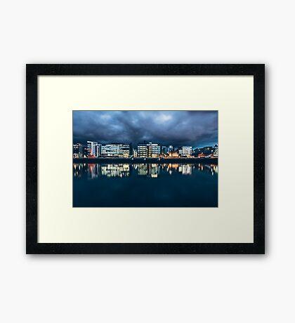 Dublin Docklands, Ireland Framed Print