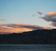 Sunset at Atitlan (2) by Marie Anne Hale