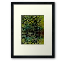 Darkness encroaches...  Framed Print