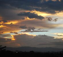 7:00 pm at Guatemala City by Marie Anne Hale