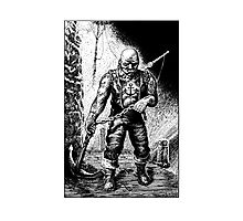 The Anchor Man Photographic Print