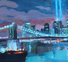 New York City - A Tribute Night in Light by artshop77