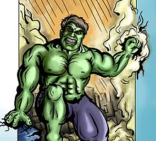 Hulk by Billi French