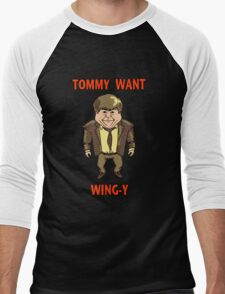 Tommy Want Wing-y Men's Baseball ¾ T-Shirt