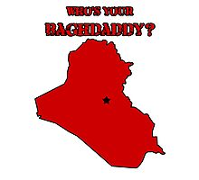 Who's Your Bagdaddy? (Red) Photographic Print