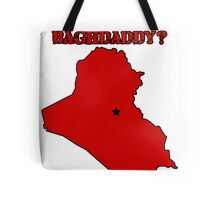 Who's Your Bagdaddy? (Red) Tote Bag