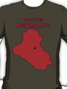 Who's Your Bagdaddy? (Red) T-Shirt
