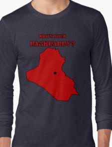 Who's Your Bagdaddy? (Red) Long Sleeve T-Shirt