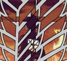 wings of freedom Sticker