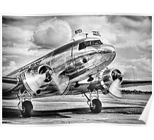 DC-3 Dakota Poster