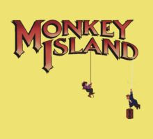 Monkey Island - Treasure found! Kids Clothes