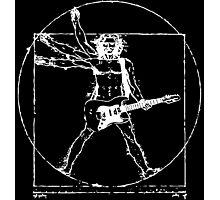 Leonardo Da Electric Guitar Photographic Print