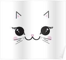 Kawaii kitty Poster