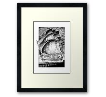 The Seamaiden Framed Print