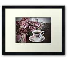 Ladies Having Tea Framed Print