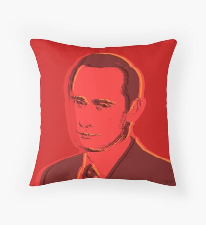 Custom pop art - Putin Throw Pillow