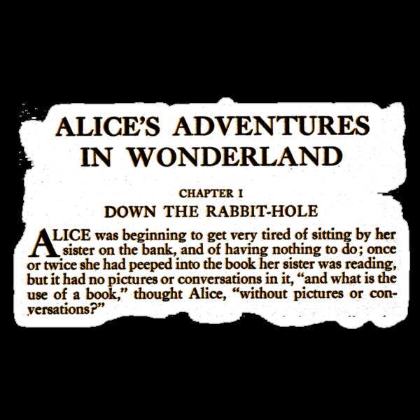 Alice In Wonderland by Catherine O'Hagan