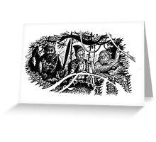 Pirates Greeting Card