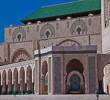 Morocco. Casablanca. Hassan II Mosque. by vadim19