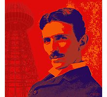 Nikola Tesla by popartworks Photographic Print