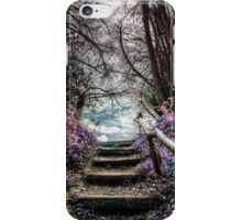 Fantasy Forest Steps iPhone Case/Skin