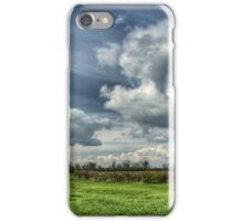 Catching Clouds (colour) iPhone Case/Skin