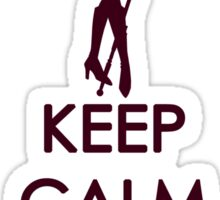 Keep Calm - Sailor Pluto Clothes 3 Sticker