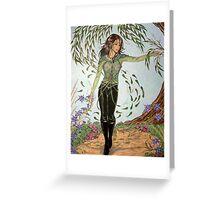 Laverna Conjures (Four Seasons 1) Greeting Card