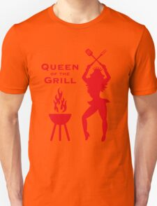 Queen Of The Grill (Barbecue) Unisex T-Shirt