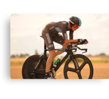 Christopher Froome Canvas Print