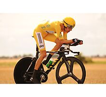 Bradley Wiggins, Tour de France Champion 2012 Photographic Print
