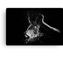 Knife Through Water Canvas Print