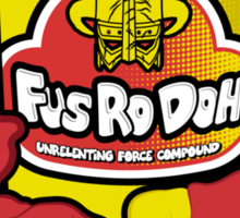 Fus Ro Doh Sticker