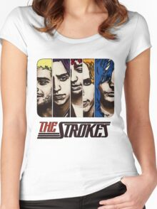 The Strokes Women's Fitted Scoop T-Shirt