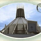 Liverpool Metropolitan Cathedral - Hand Tinted by Fotopia