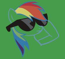 Rainbow Dash Don't Care One Piece - Short Sleeve