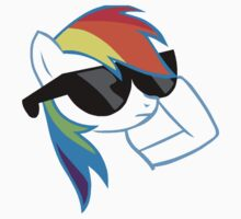 Rainbow Dash Don't Care One Piece - Long Sleeve