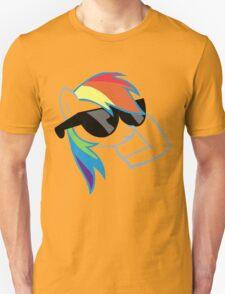 Rainbow Dash Don't Care Unisex T-Shirt