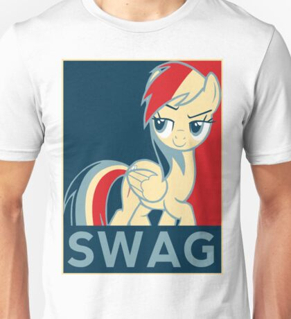 Rainbow Dash Communist Swag Unisex T-Shirt