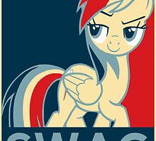 Rainbow Dash Communist Swag by Speedmushroom