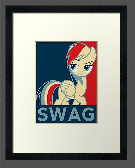 Rainbow Dash Communist Swag by Speedmushroom