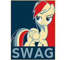 Rainbow Dash Communist Swag Photographic Print