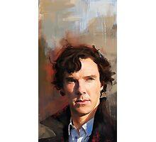Sherlock Study Photographic Print